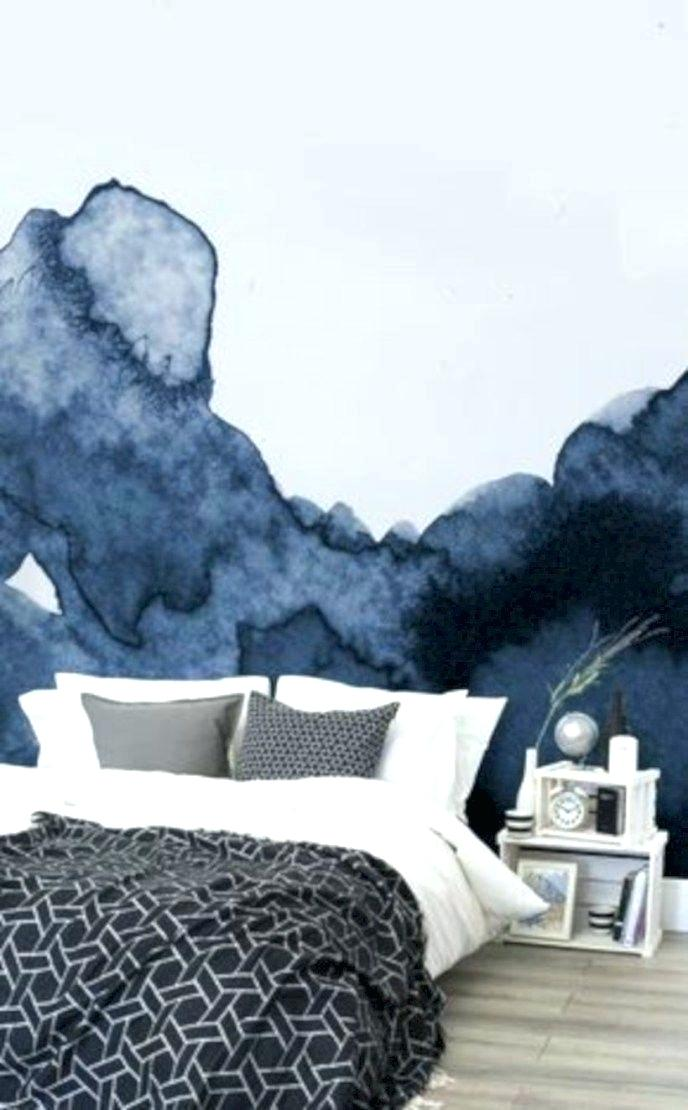 Modern Wallpaper For Walls Modern Wallpaper For Bedroom - Watercolour Bedroom - HD Wallpaper