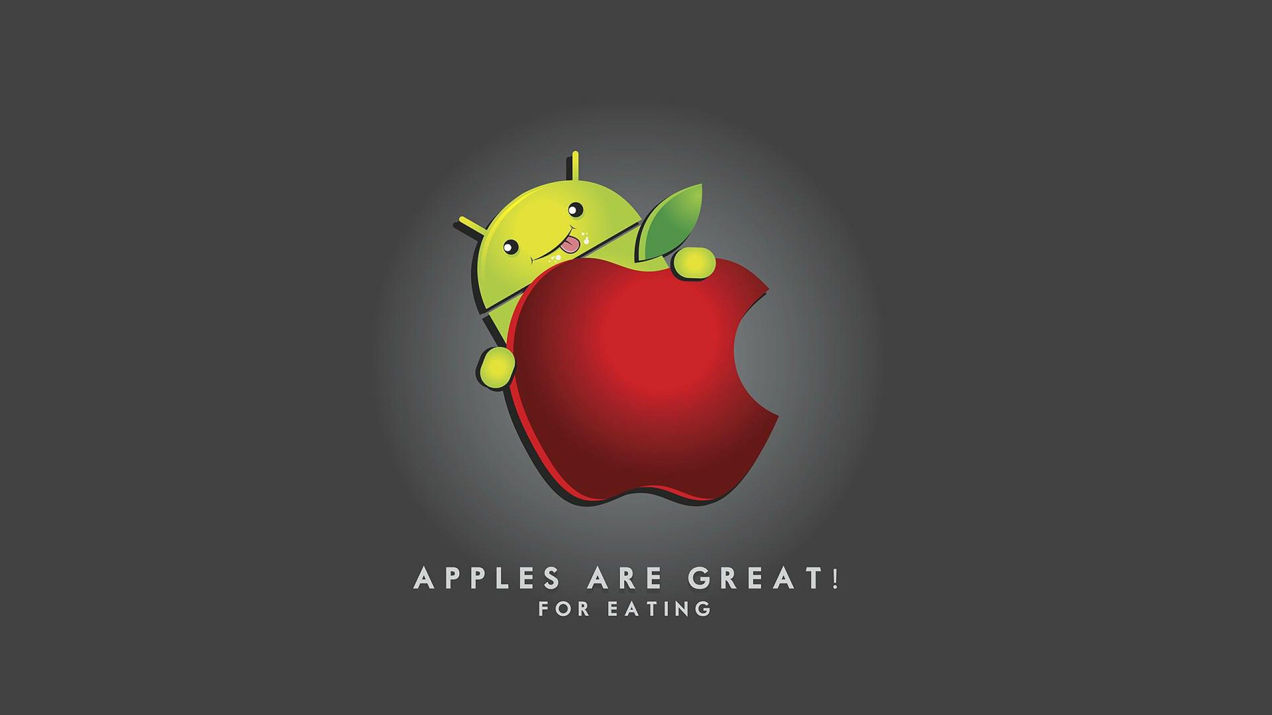 Android Vs Apple Wallpaper 36844 Hd Pictures - Apples Are Great For Eating - HD Wallpaper