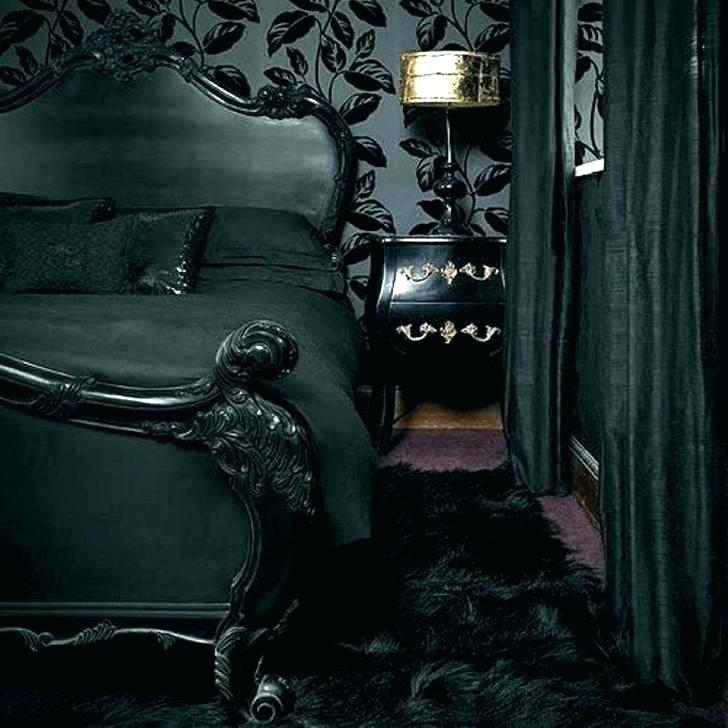 Dark Gothic Wallpaper For Walls Style Roses Bedrooms Black Victorian Room Decor 728x728 Wallpaper Teahub Io