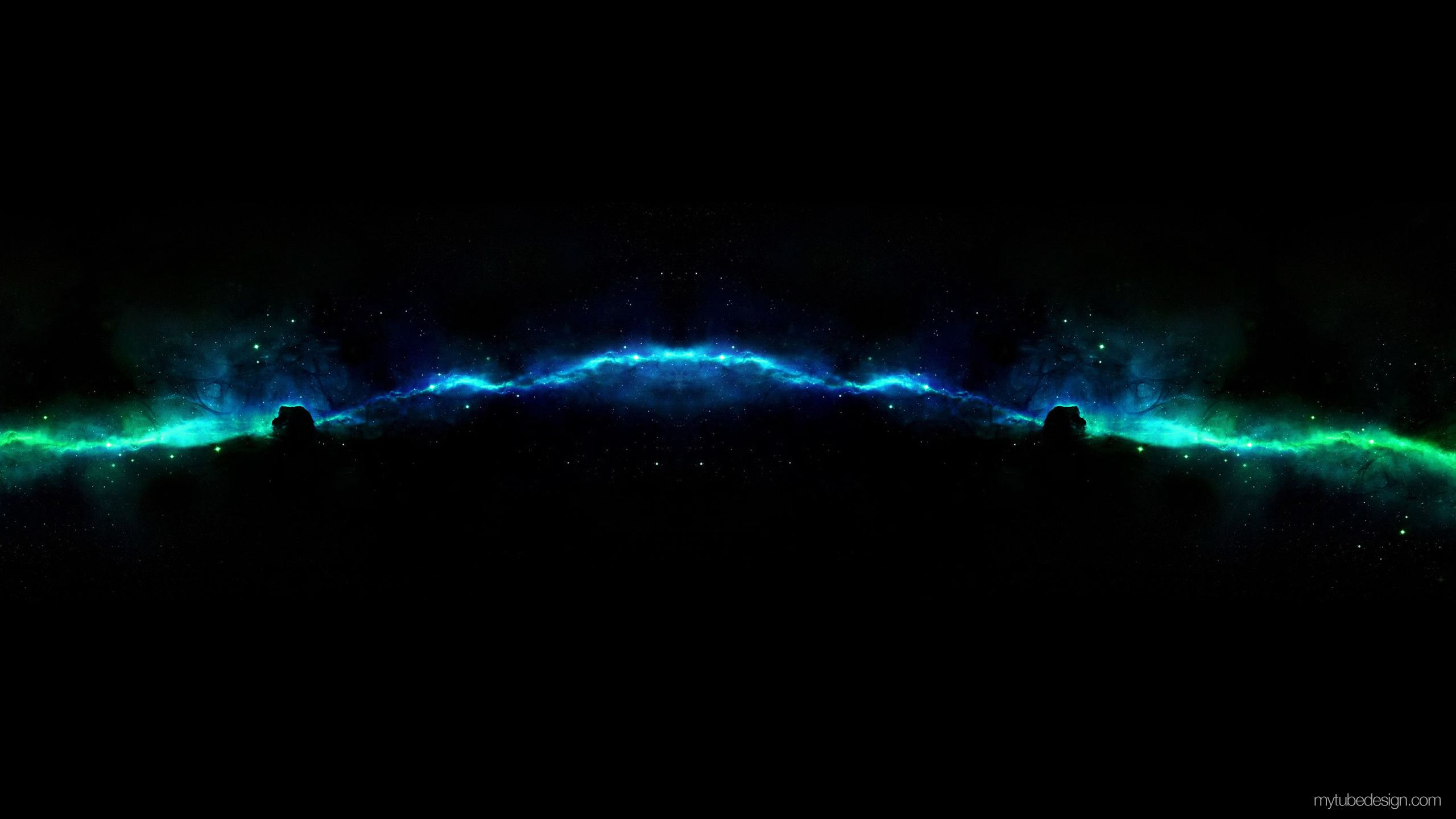 Black And Blue Youtube Channel Art - HD Wallpaper