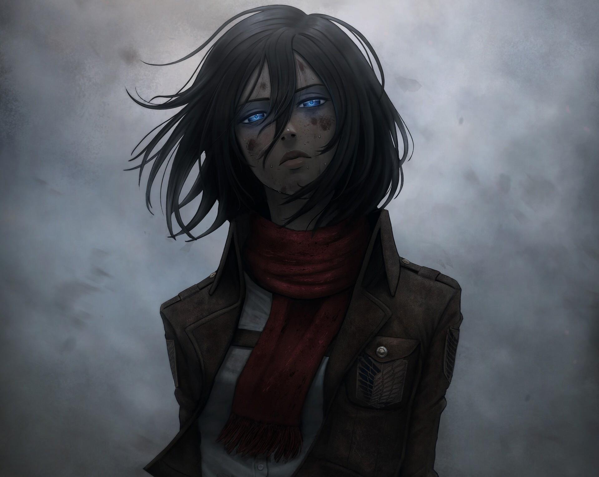 Anime Attack On Titan Mikasa - HD Wallpaper