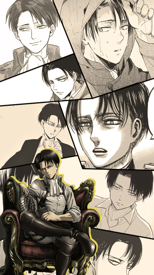 Levi Ackerman Wallpaper Hd Phone 540x960 Wallpaper Teahub Io