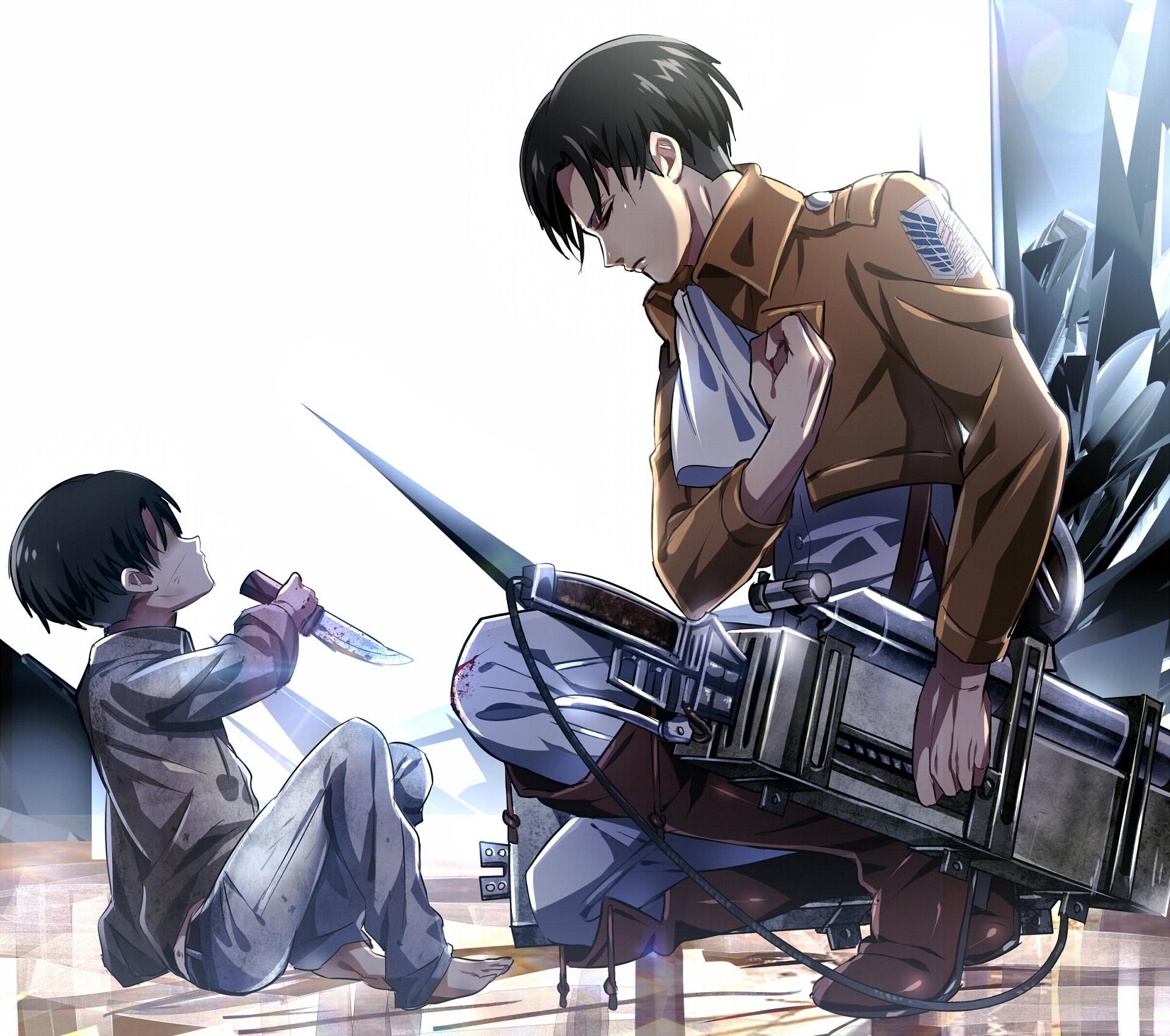 Levi Attack On Titan Fanart - HD Wallpaper