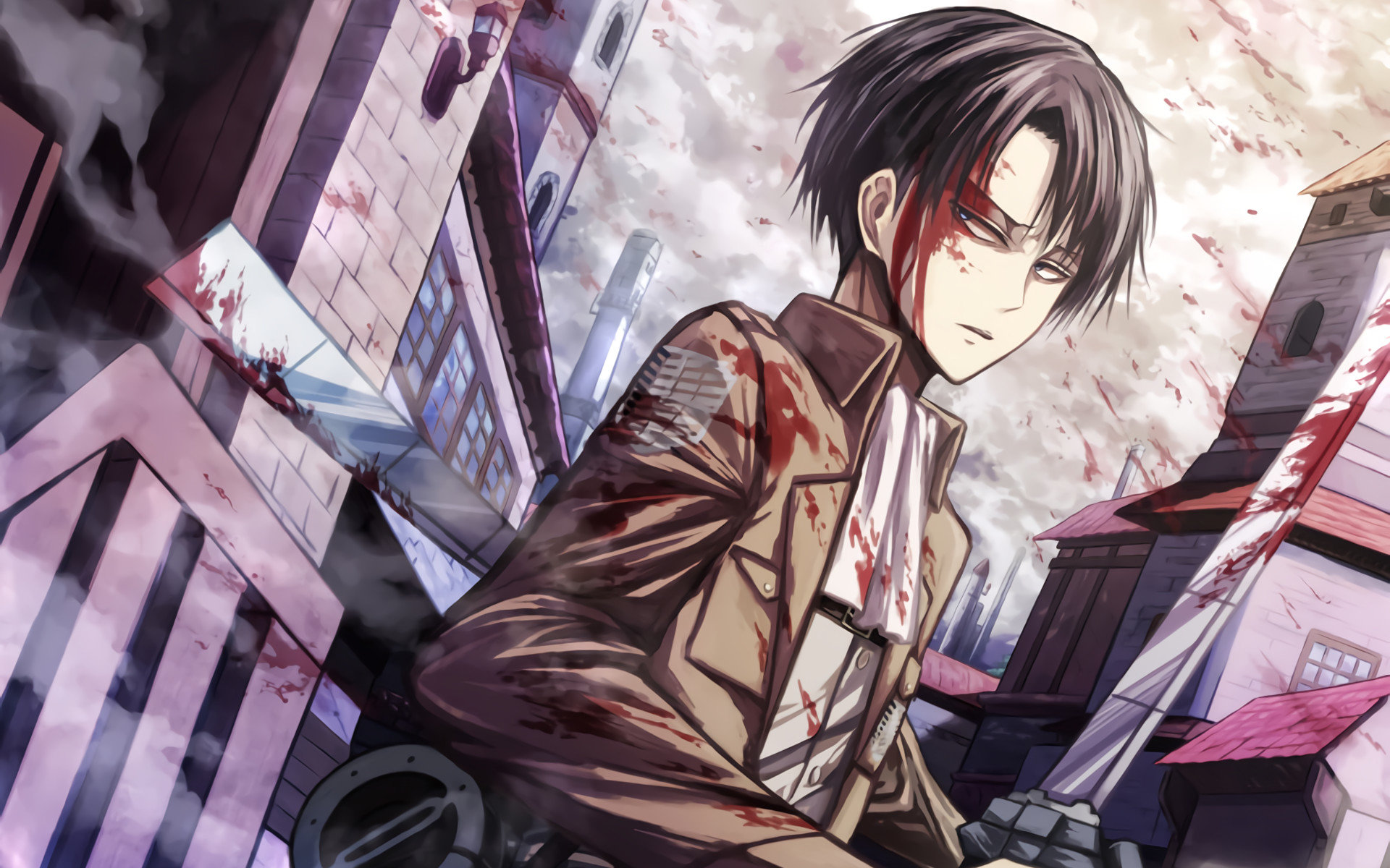 High Resolution Levi Ackerman Hd Wallpaper Id Levi Ackerman Wallpaper Hd 1920x1200 Wallpaper Teahub Io