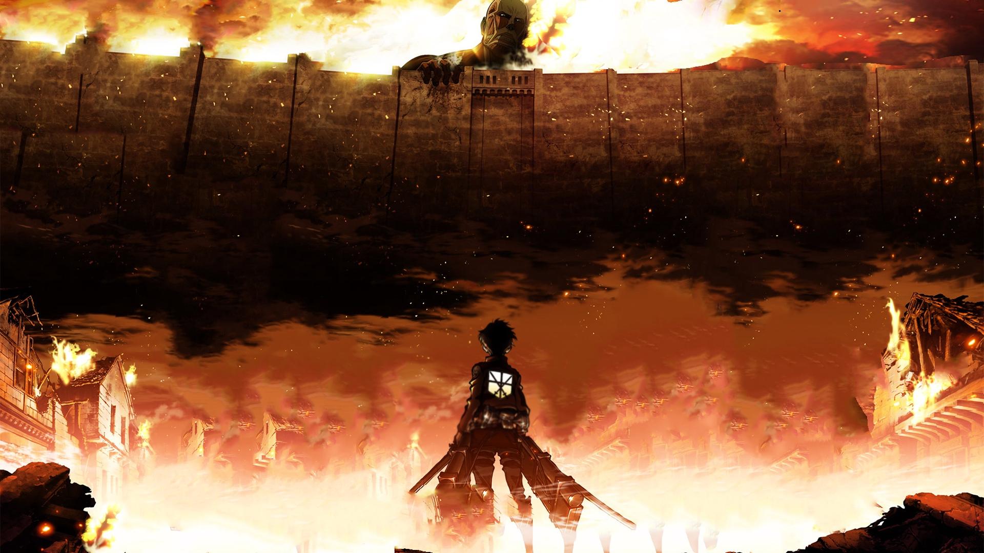 Wallpaper Attack On Titan Eren Jaeger Shingeki No Shingeki No Kyojin Wallpaper Hd 1920x1080 Wallpaper Teahub Io