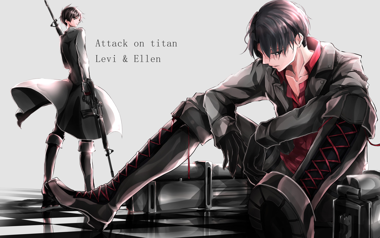 Attack On Titan Levi Cartoon Character 5k Wallpaper Anime Wallpaper Attack On Titan Levi 6171x3877 Wallpaper Teahub Io