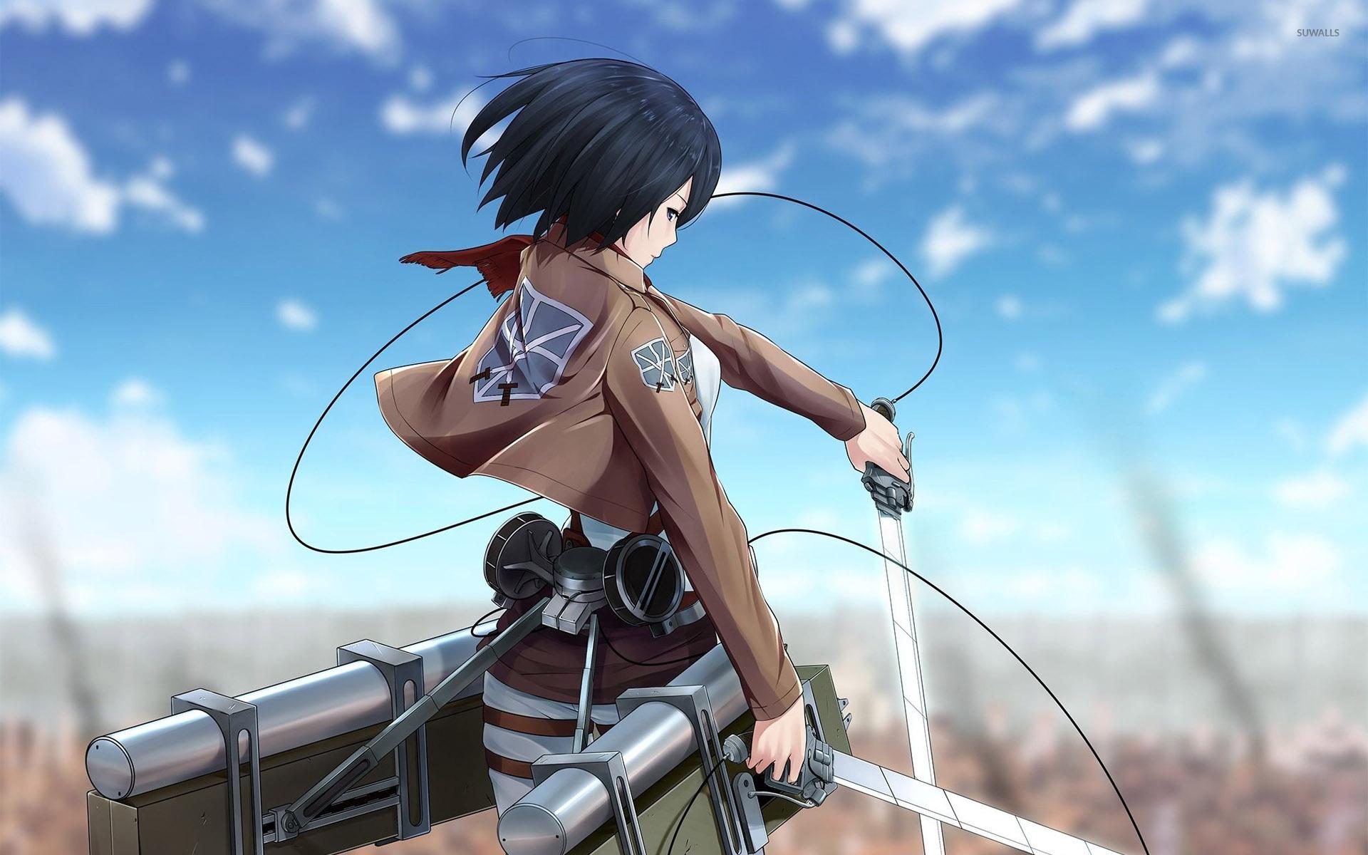 Mikasa Attack On Titan Wallpaper Hd - HD Wallpaper