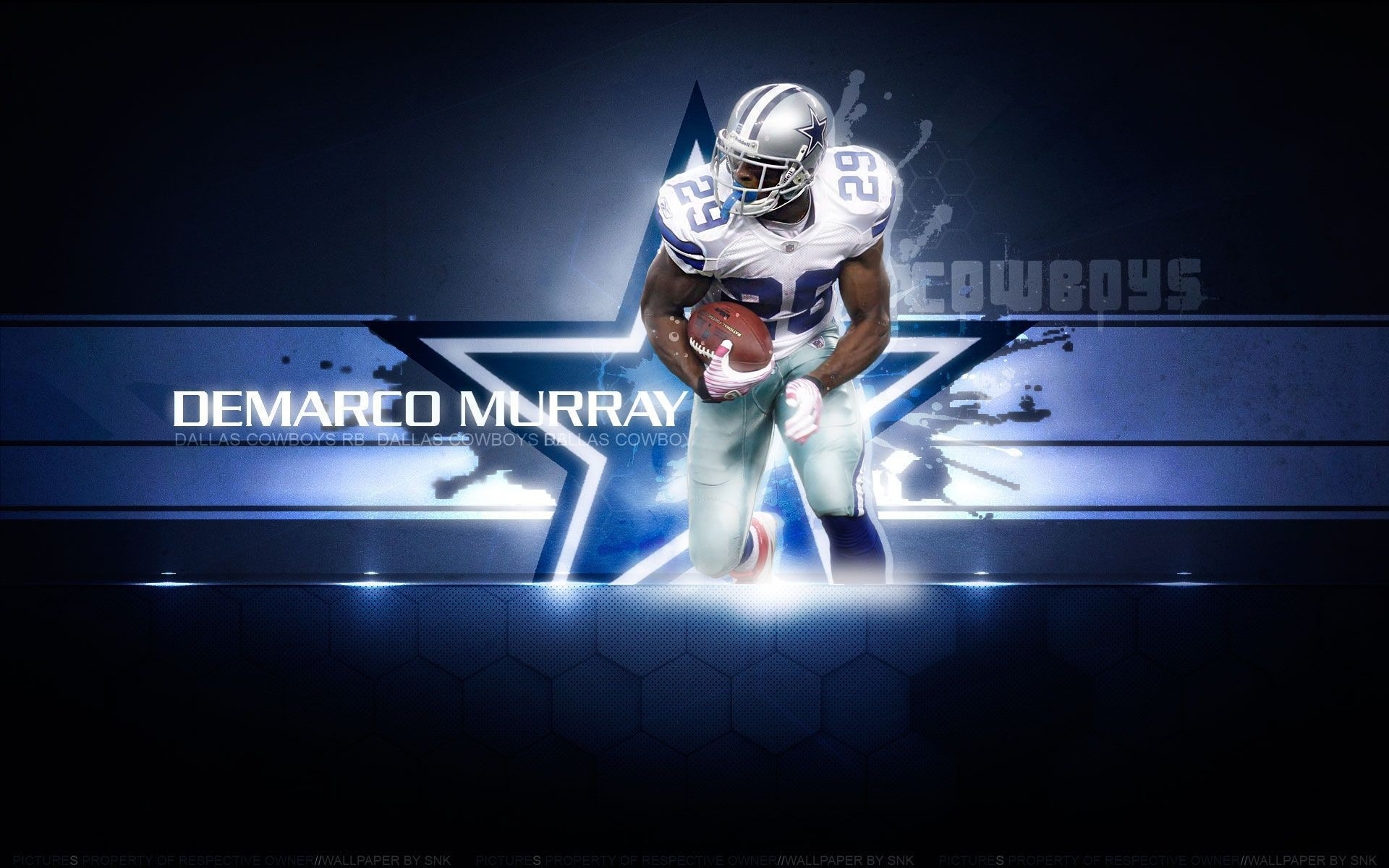 1920x1200, Demarco Murray Dallas Cowboys Wallpaper - Dallas Cowboys Thanksgiving - HD Wallpaper