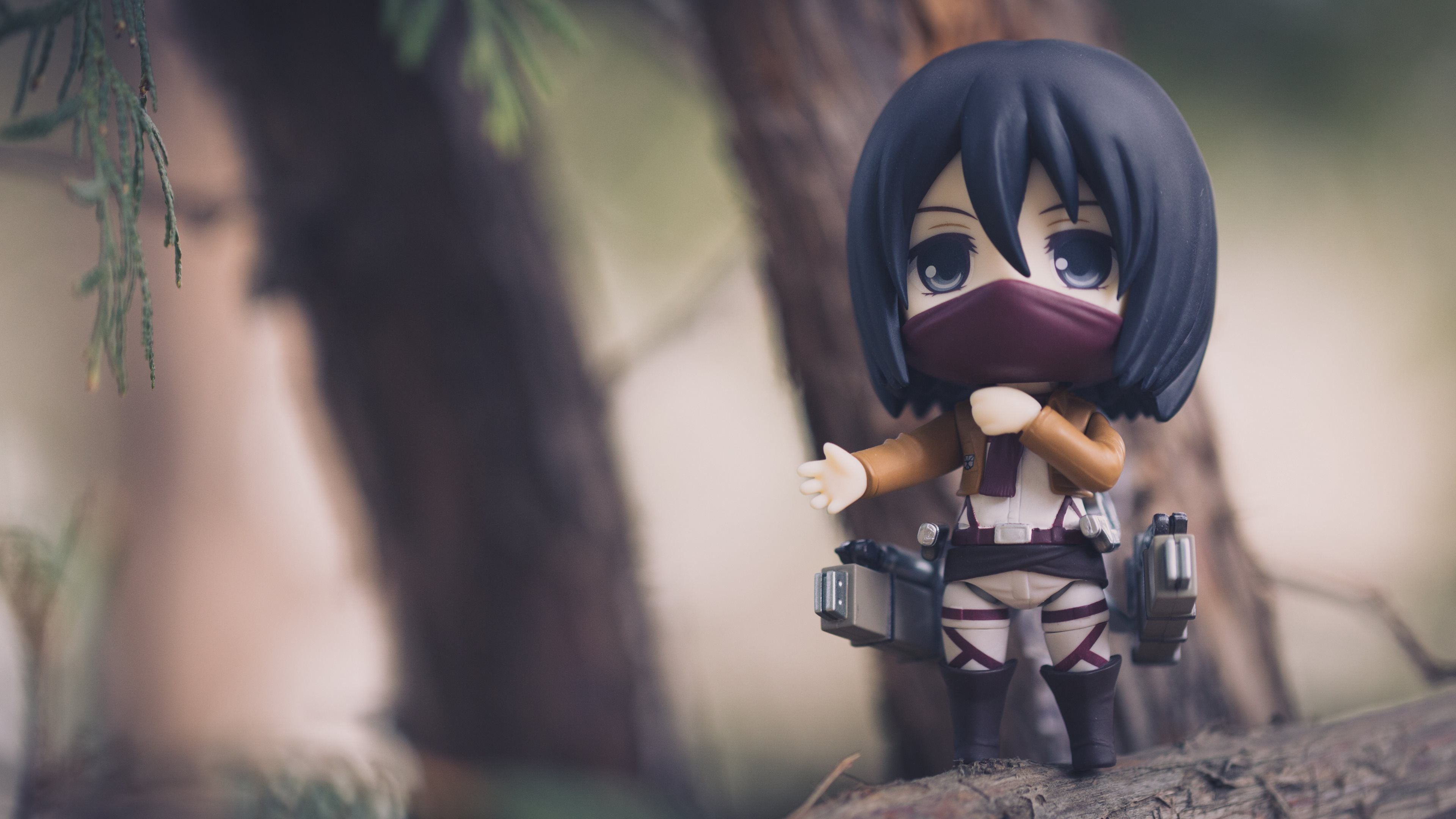 Mikasa Ackerman Wallpaper Hd Pc 3840x2160 Wallpaper Teahub Io