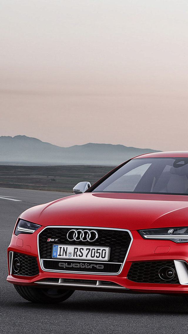 2014 Audi Rs7 Red Wallpaper Audi Rs 7 Price In India 640x1136 Wallpaper Teahub Io