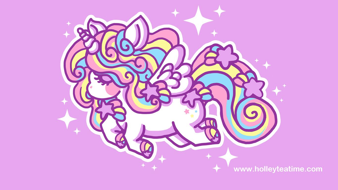 60 606771 kawaii unicorn wallpaper hd