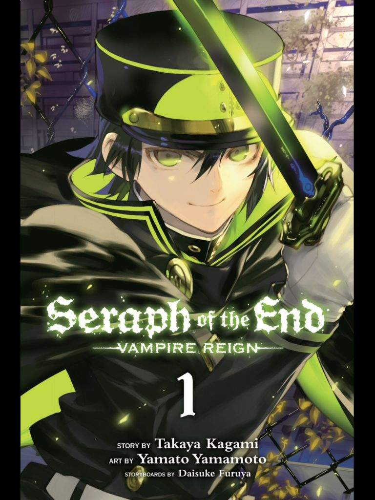 User Uploaded Image - Seraph Of The End Vol 1 - HD Wallpaper