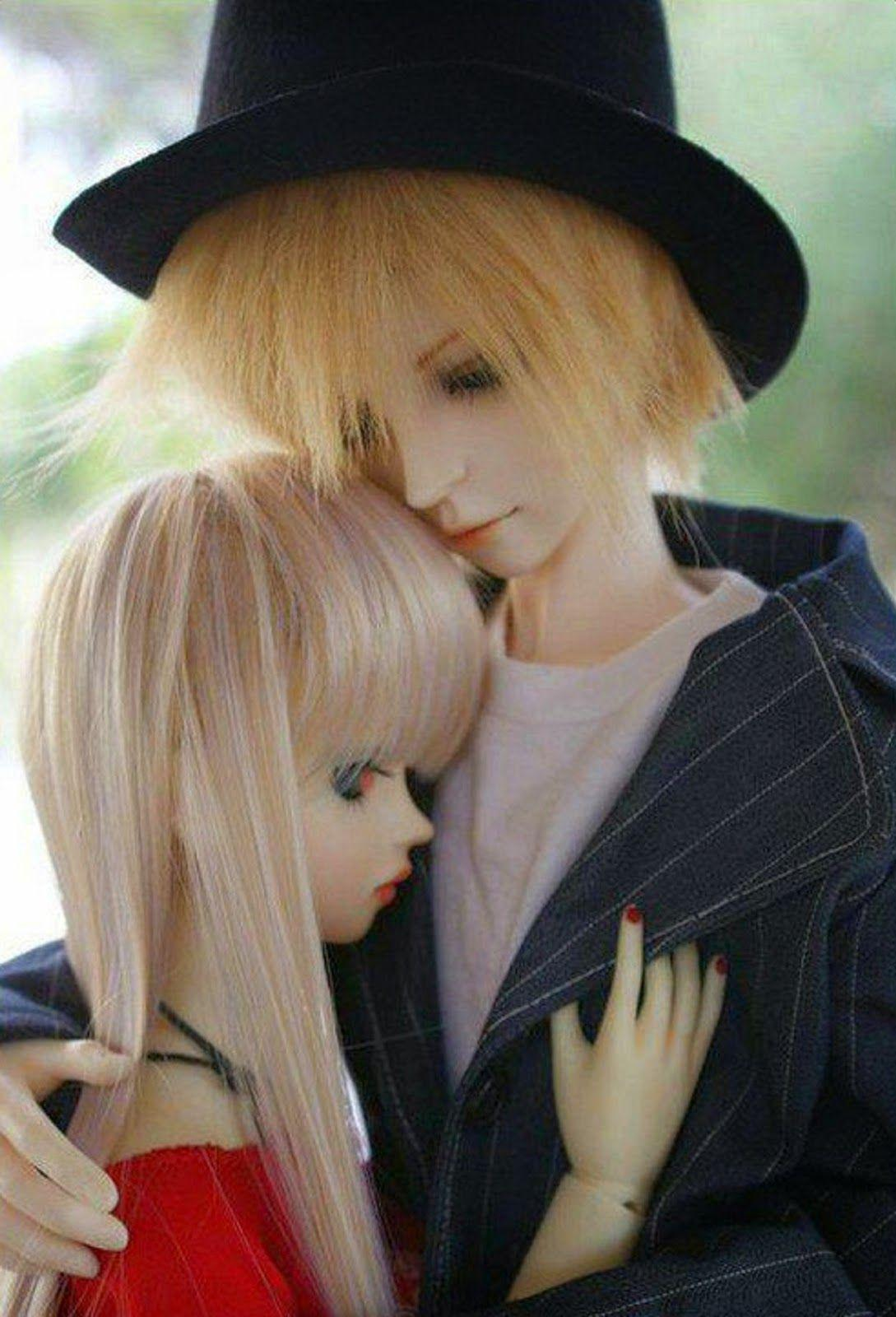 Cute Love Couple Wallpapers For Mobile Hd Wallpapers - Love Cute Couple Doll - HD Wallpaper