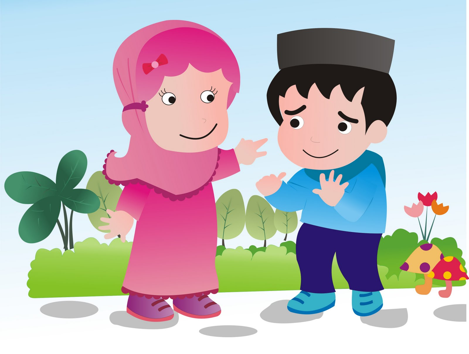 Pertemanan Laki Laki Dan Perempuan Dalam Islam - HD Wallpaper