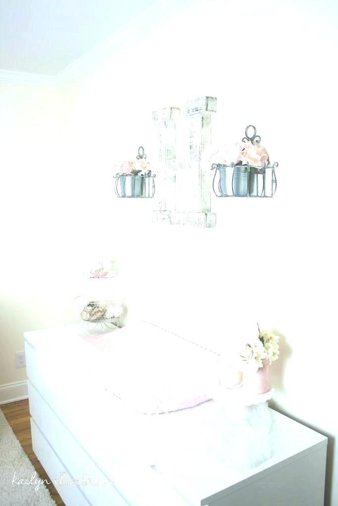Girls Nursery Wallpaper Baby Room Ideas, Shabby Chic Baby Furniture