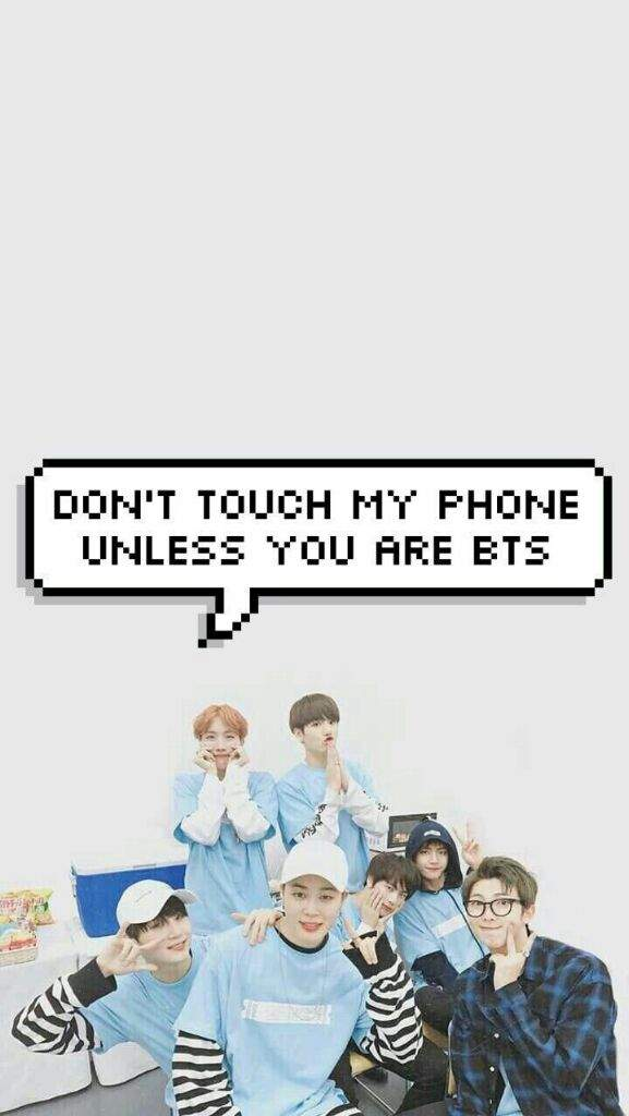 User Uploaded Image - Dont Touch My Phone Bts - HD Wallpaper