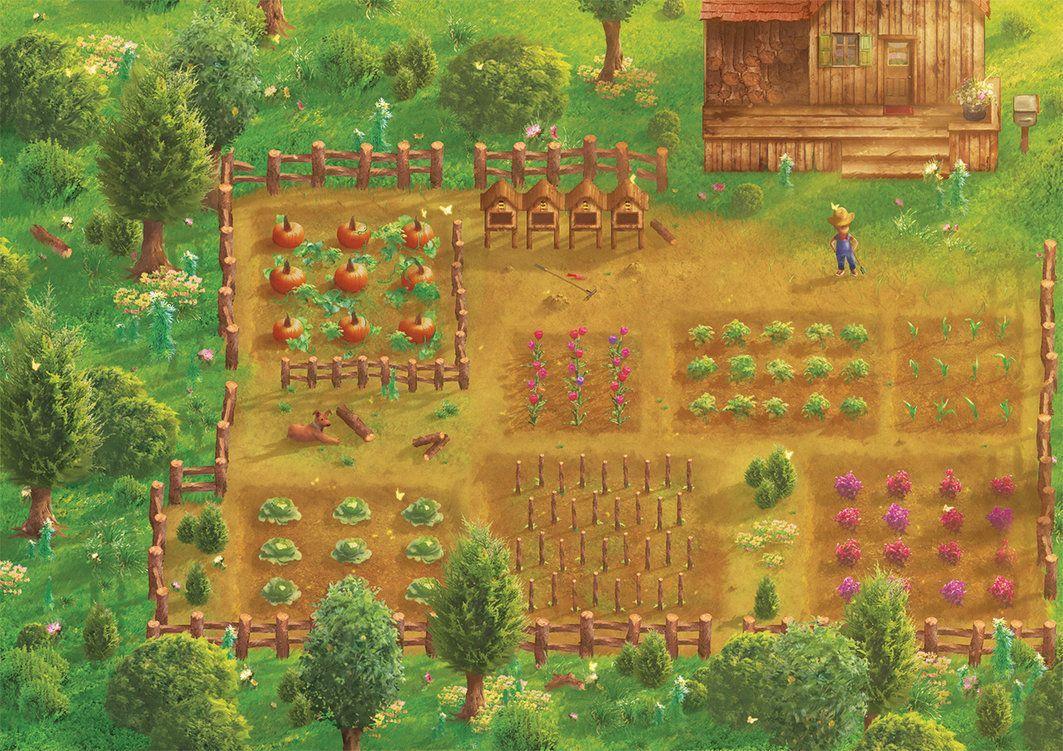 Stardew Valley Background - HD Wallpaper