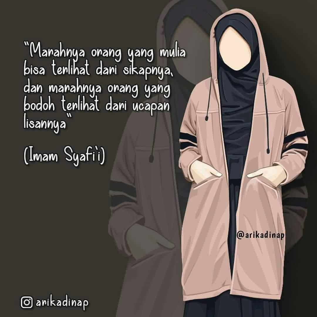 Gambar Kartun Muslimah Cantik - Muslimah Cantik Gambar Kartun Muslimah - HD Wallpaper