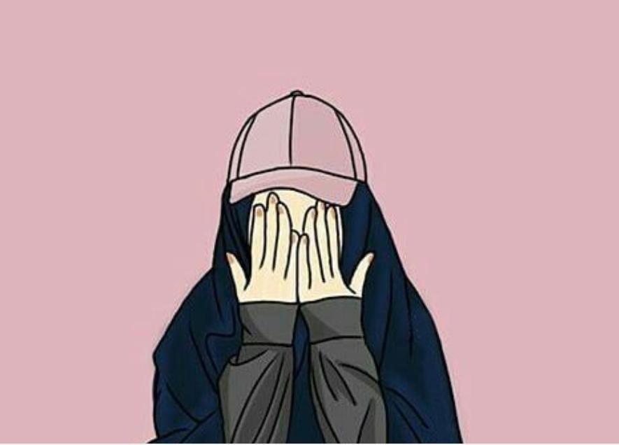 Gambar Kartun Muslim - Hijab Foto Kartun - HD Wallpaper