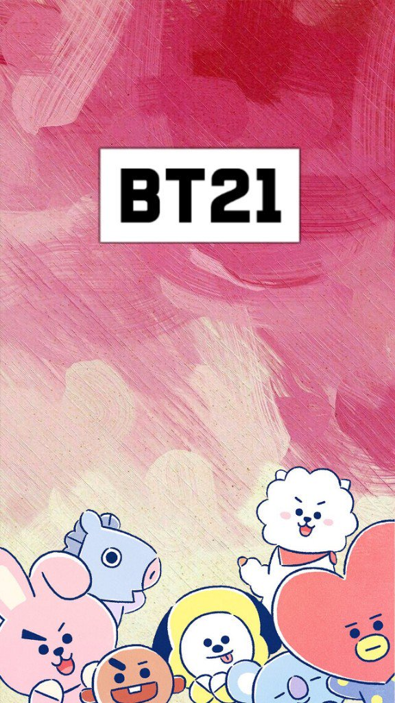 Bt21 Lockscreen - HD Wallpaper