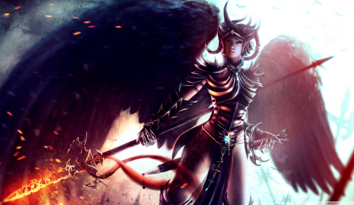 Fantasy Sword Warrior 4k Hd Desktop Wallpaper For Anime Female Warrior 1243x721 Wallpaper Teahub Io