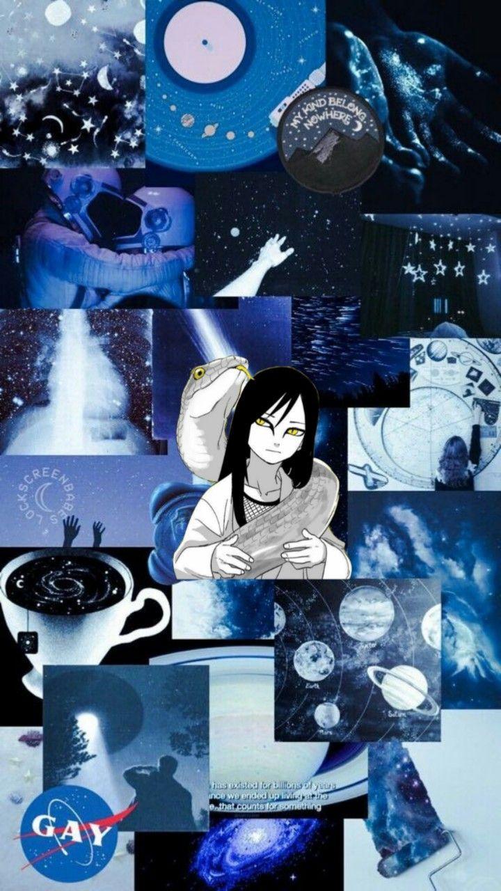 Aesthetic Collage Blue 720x1280 Wallpaper Teahub Io