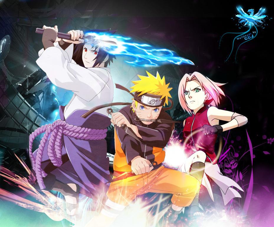 Naruto Shippuden - Naruto Uzumaki And Sasuke Uchiha - HD Wallpaper