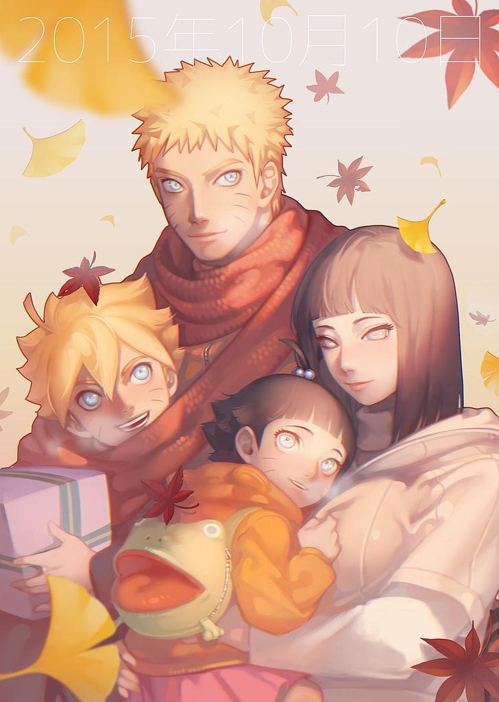 Naruto Uzumaki Family Naruto X Hinata Boruto Himawari Boruto Naruto X Hinata 728x1024 Wallpaper Teahub Io