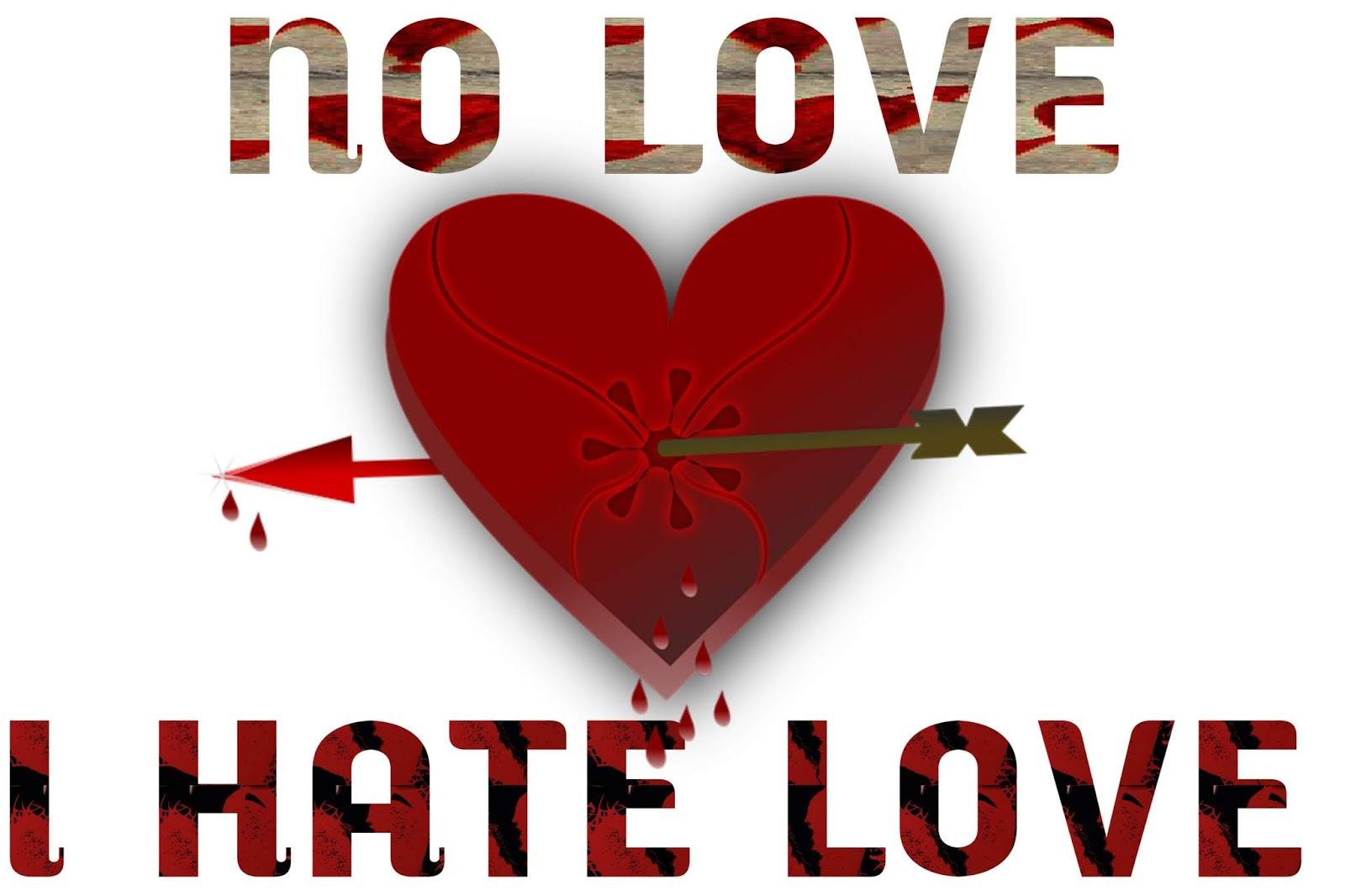 Hate Love Image, Hate Love Pic, Hate Love Photo - Heart - HD Wallpaper