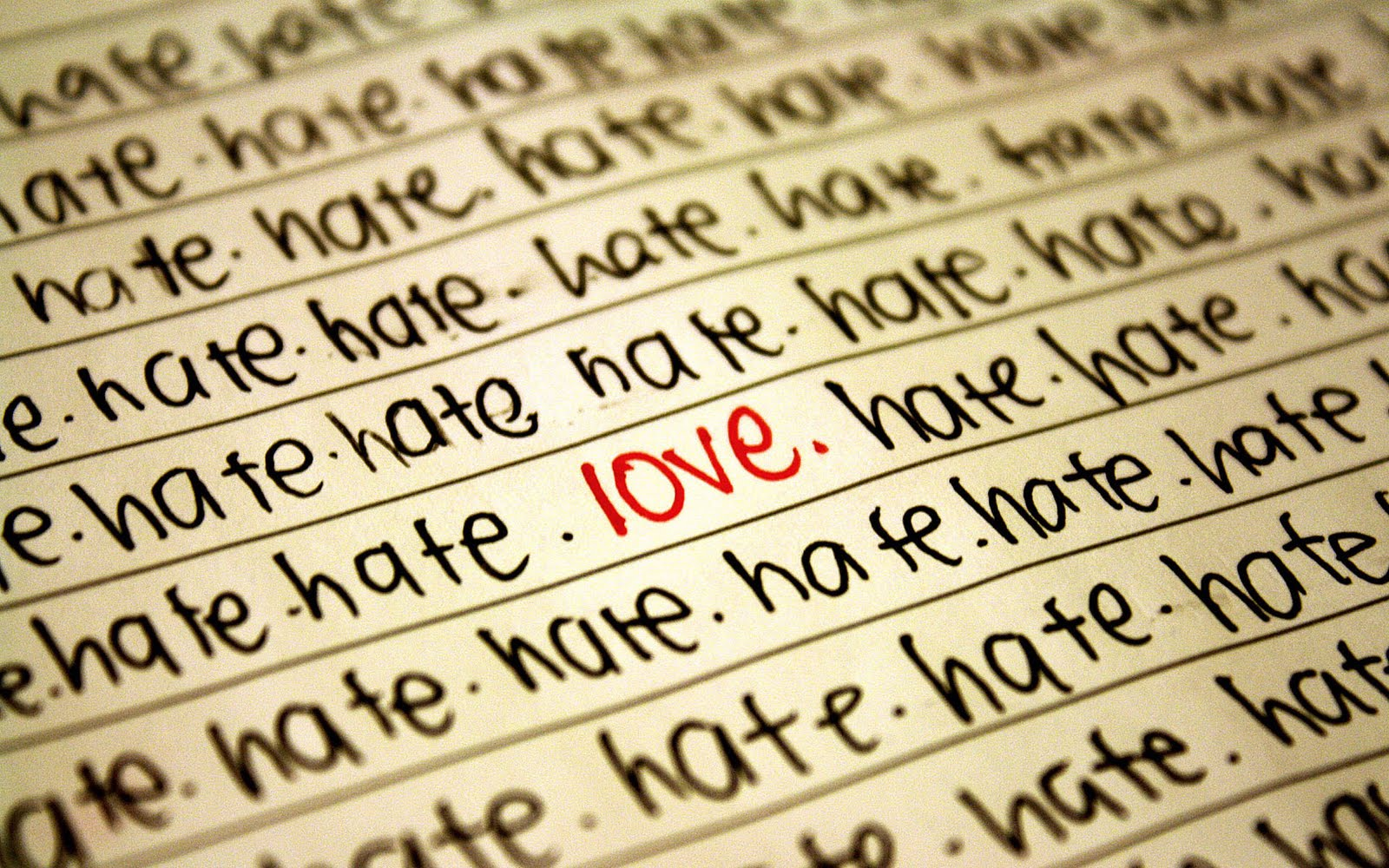 Love Hate Quotes And Wallpapers  Heart Broking I Hate - Hate Love And Lovers - HD Wallpaper