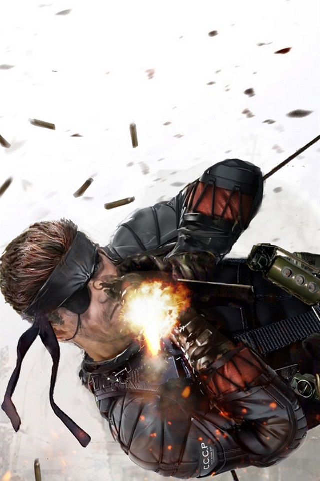 Iphone Wallpaper Metal Gear Solid, Soldier Fight - Metal Gear Solid Film Script - HD Wallpaper