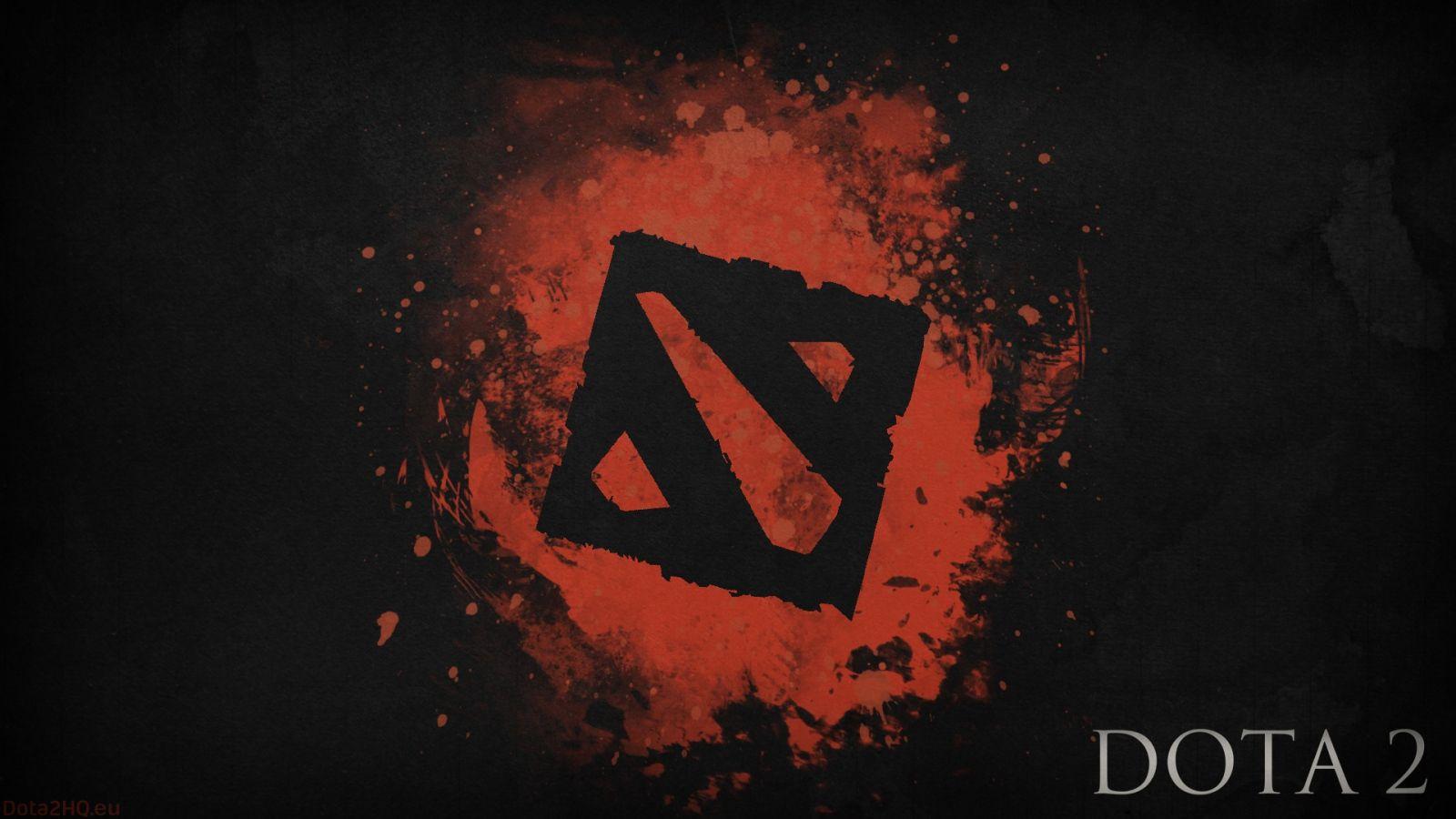 Logo Dota 2 Hd - HD Wallpaper
