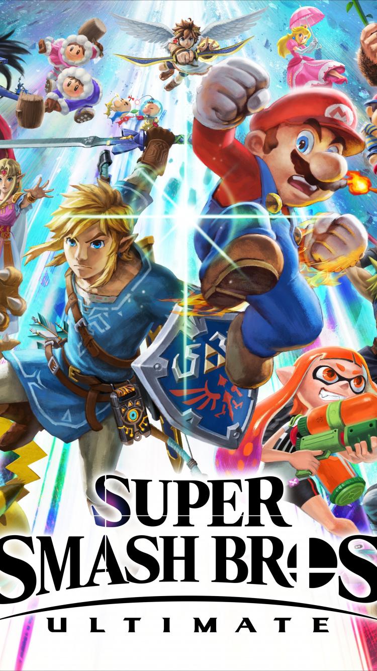 E3 2018, Super Smash Bros - Super Smash Bros Ultimate Cover - HD Wallpaper