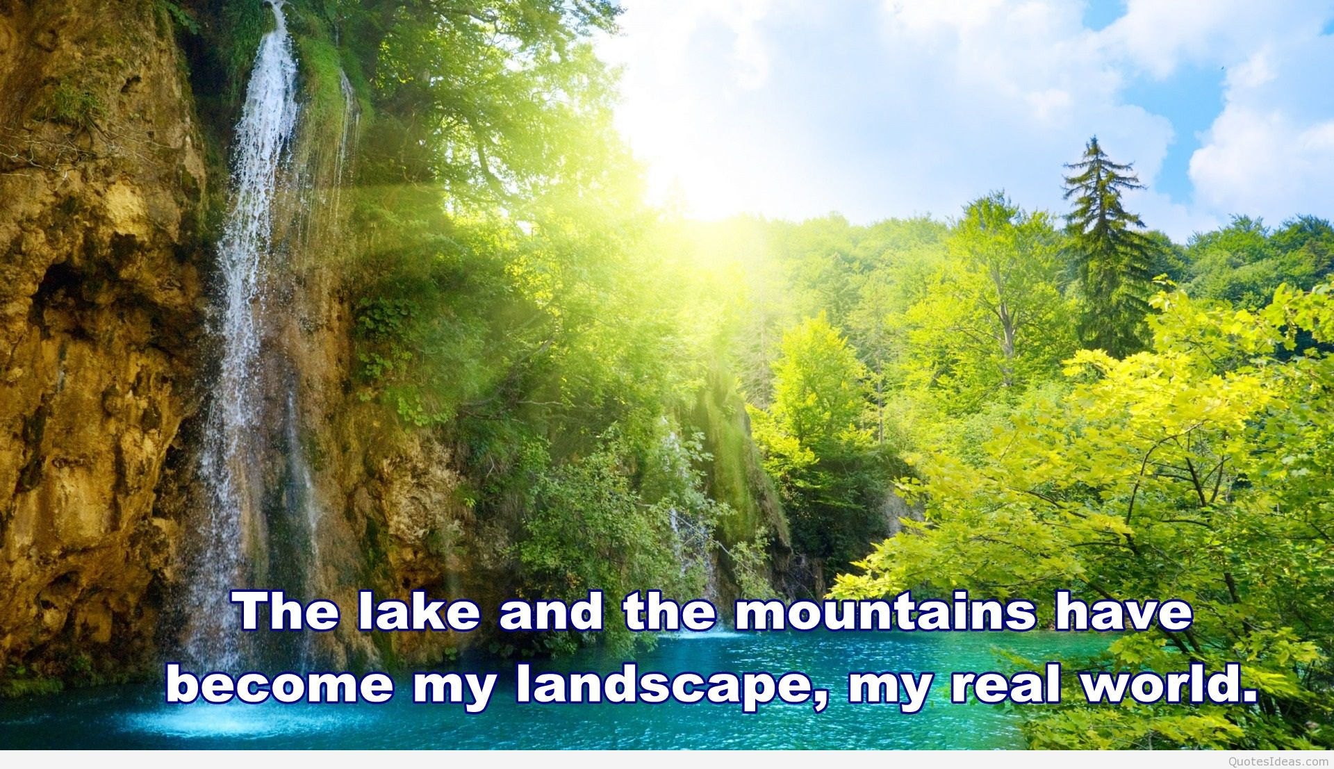 Summer Nature Quote Hd - Nature Quotes Hd - HD Wallpaper
