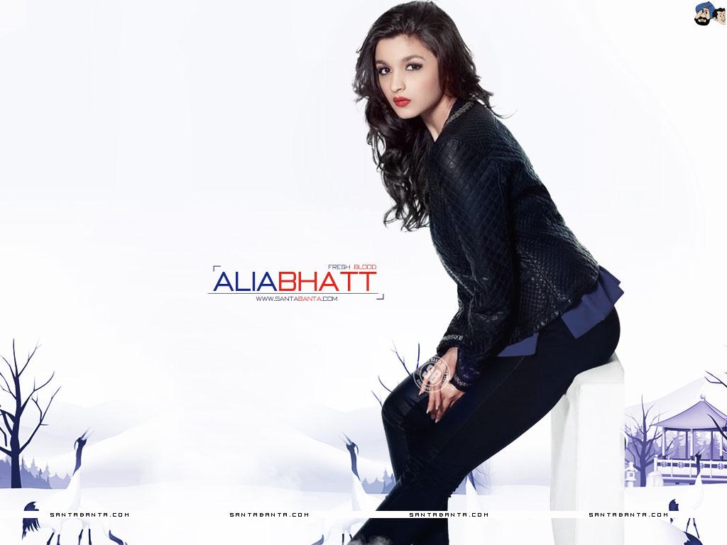 Alia Bhatt Hot Photoshoots - HD Wallpaper
