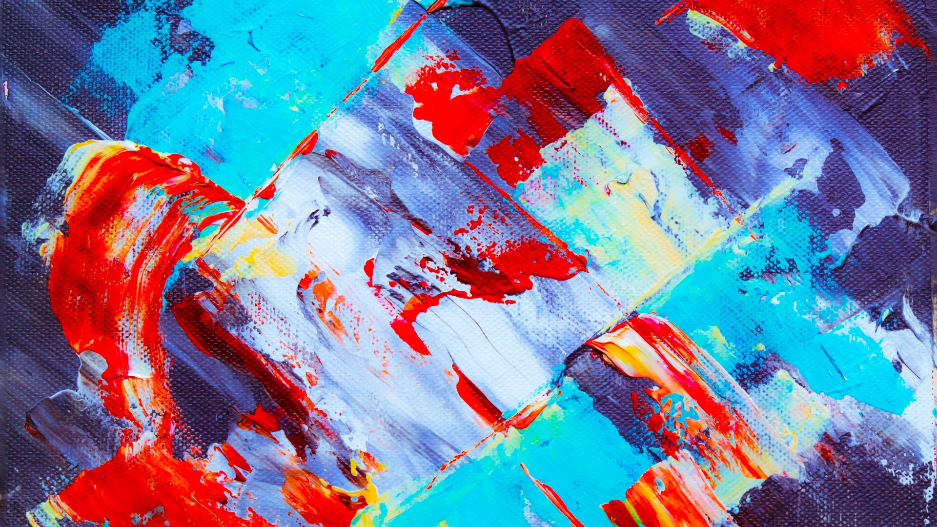 Wallpaper Canvas, Paint, Acrylic, Stains, Chaos, Abstract - 4k Ultra Hd Wallpapers 4k Full Color - HD Wallpaper