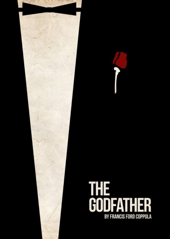 Godfather Minimal Movie Posters - HD Wallpaper