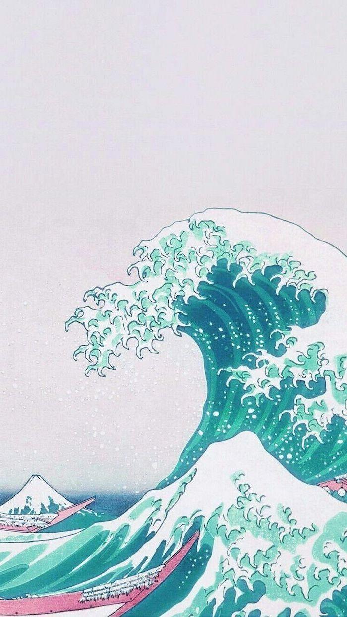 Aesthetic Wallpaper Waves - HD Wallpaper
