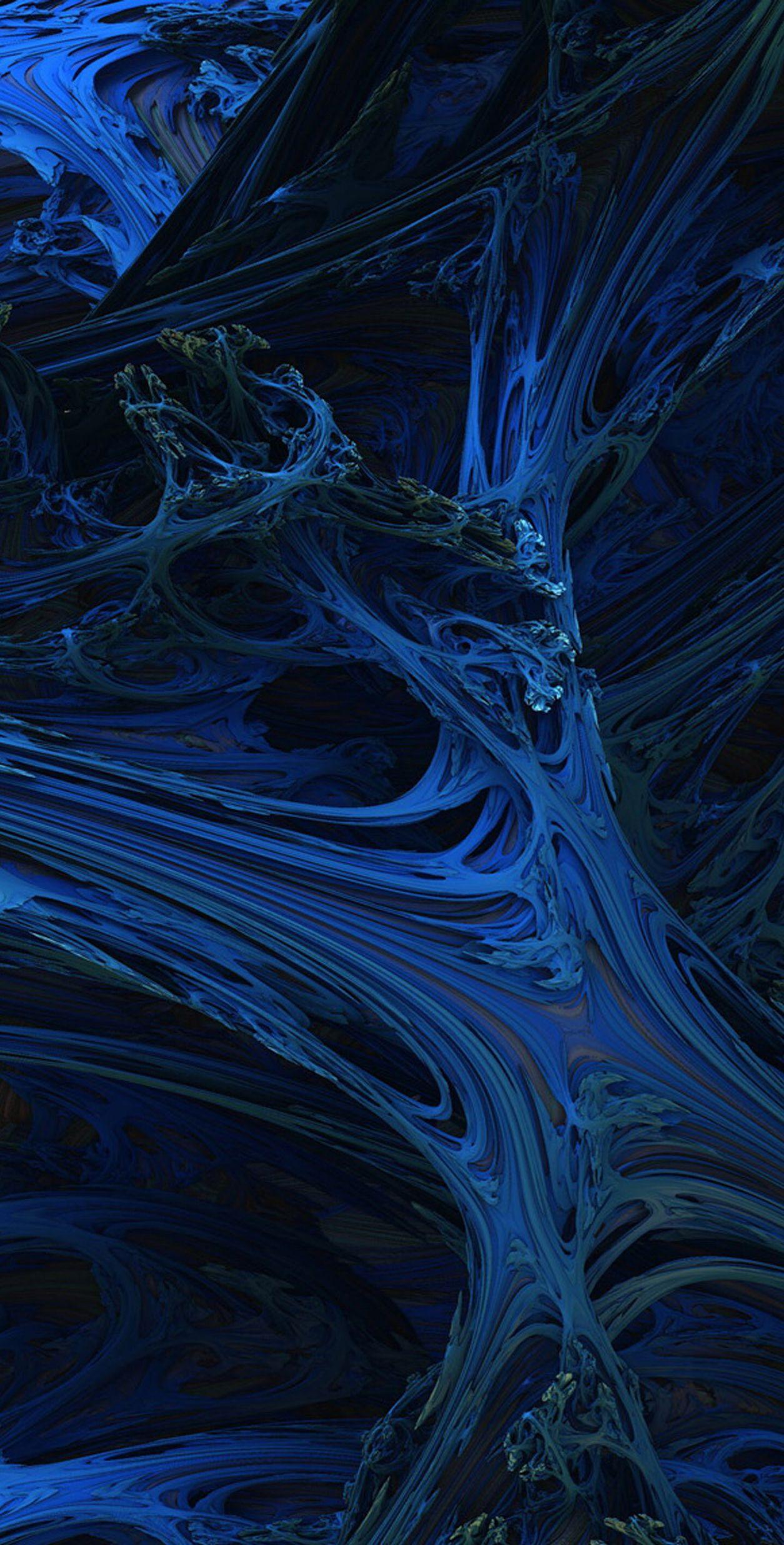 Dark Blue Aesthetic - HD Wallpaper