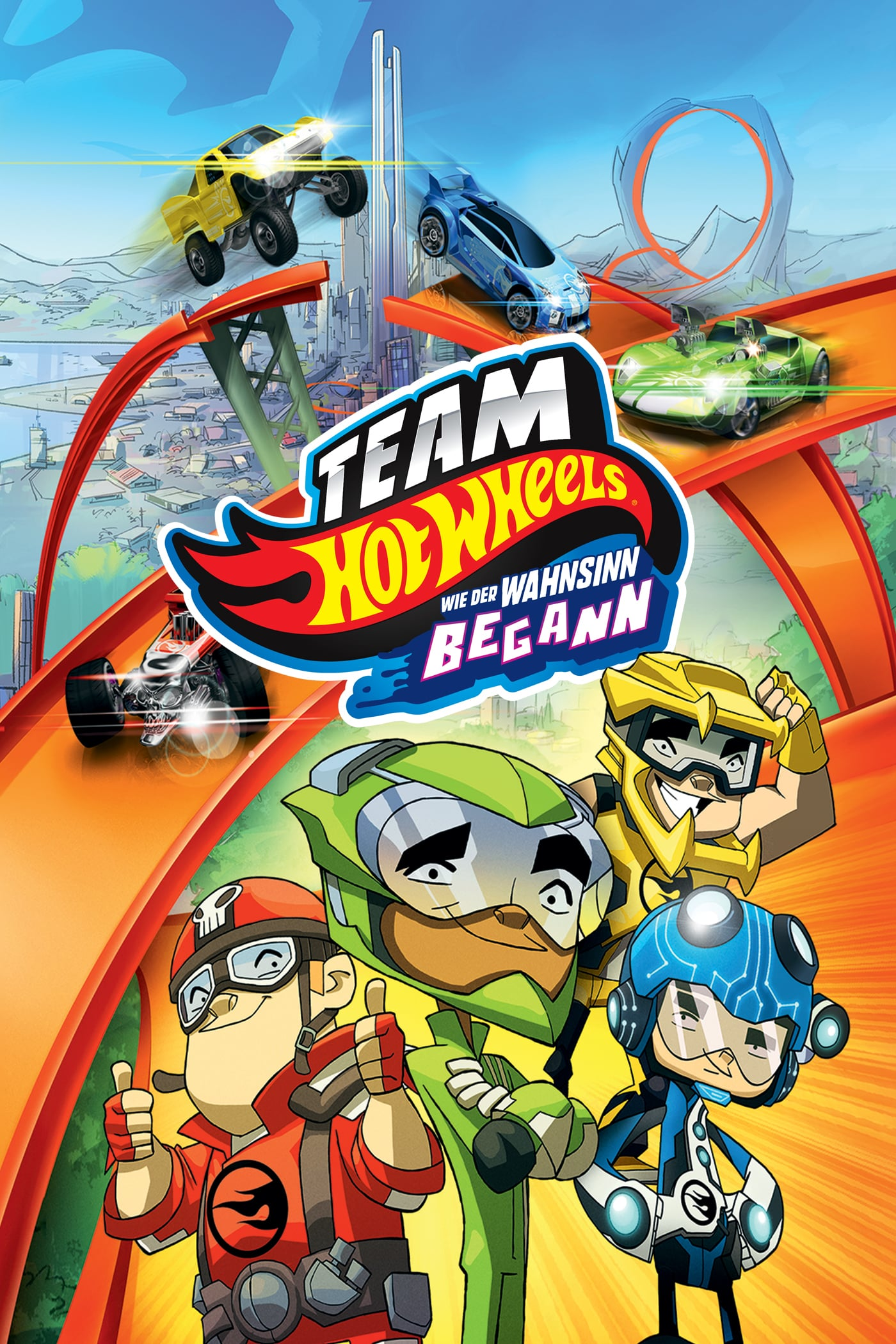 Team Hot Wheels The Origin Of Awesome Dvd - HD Wallpaper