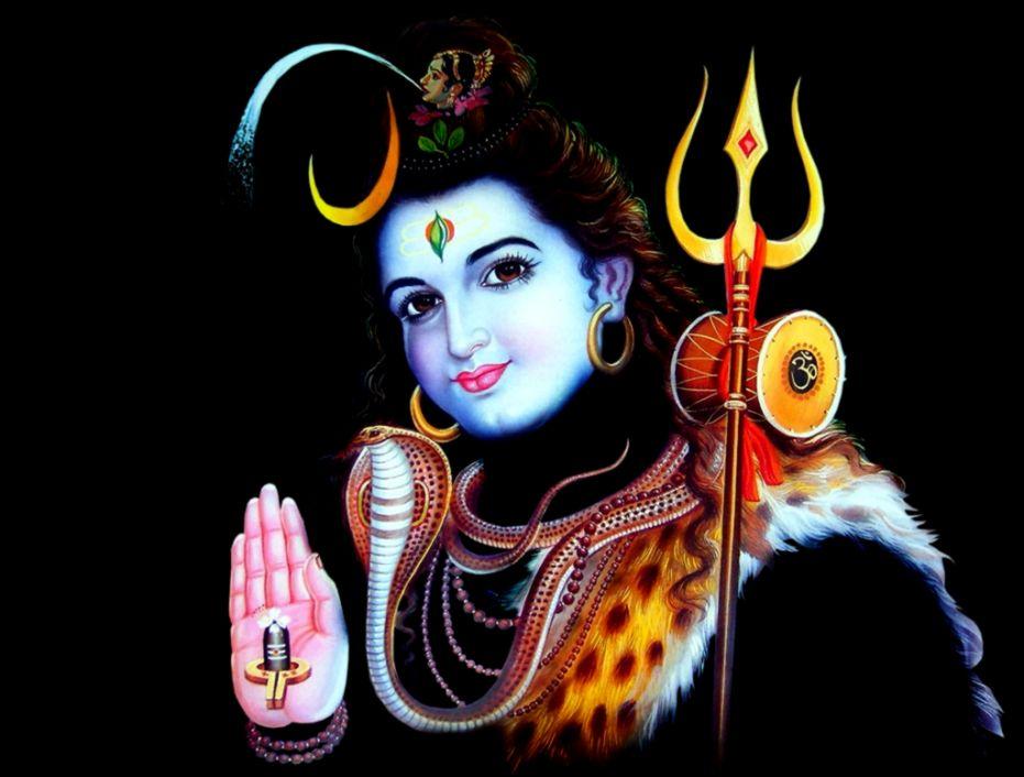 Lord Shiva Wallpaper Shiv Shankar - Lord Shiva Blessed - HD Wallpaper