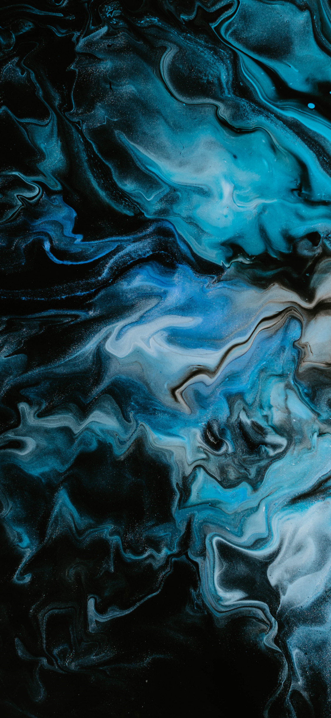 Stains, Paint, Acrylic Dark-blue, Wallpaper - Acrylic Paint Wallpaper Hd Iphone Blue - HD Wallpaper