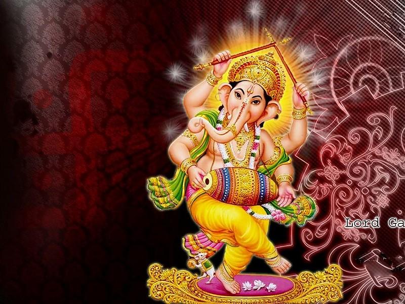 Lord Ganesha Indian God Hd Desktop Wallpapers - God Hd Desktop - HD Wallpaper