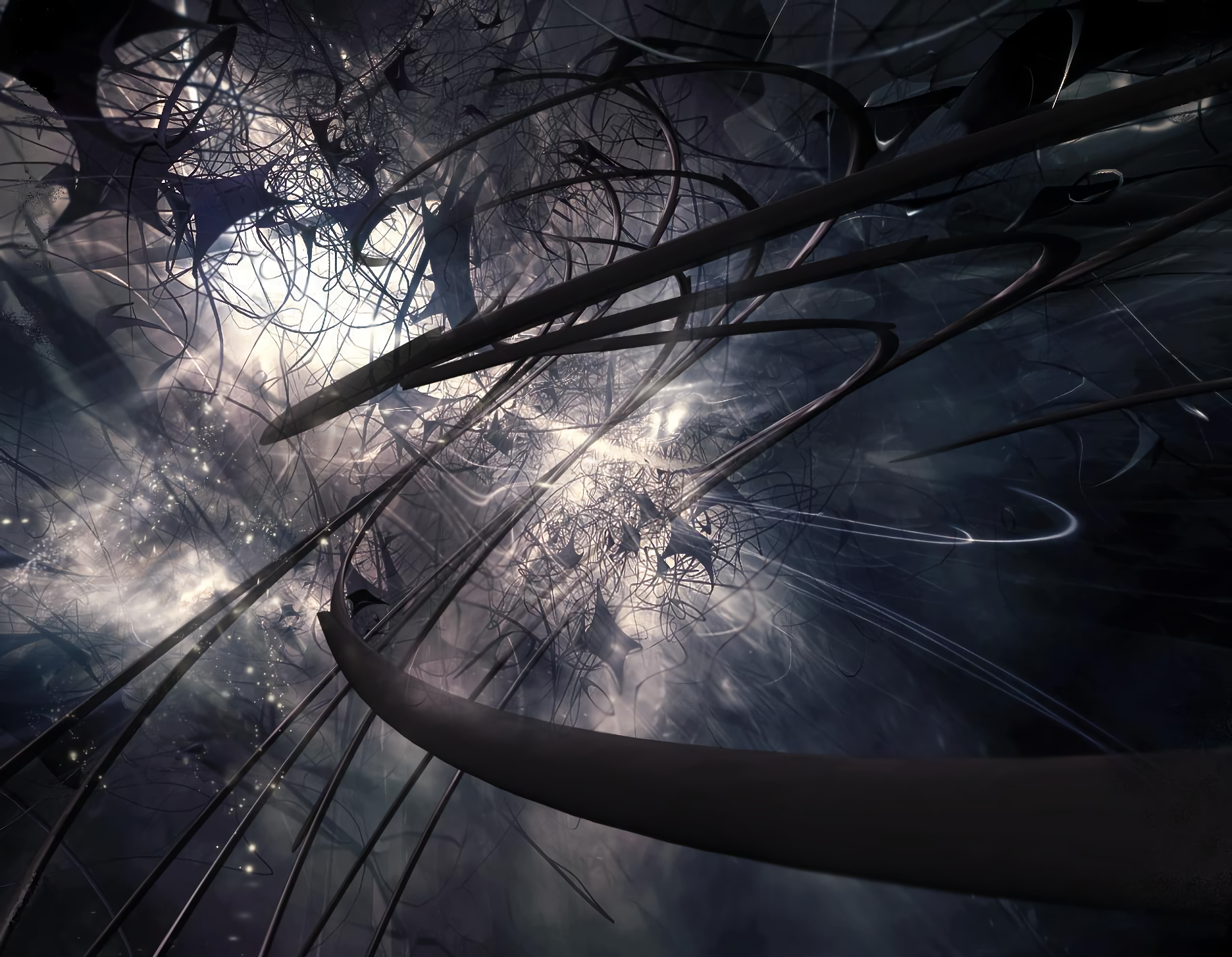 Abstract Dark Backgrounds - HD Wallpaper