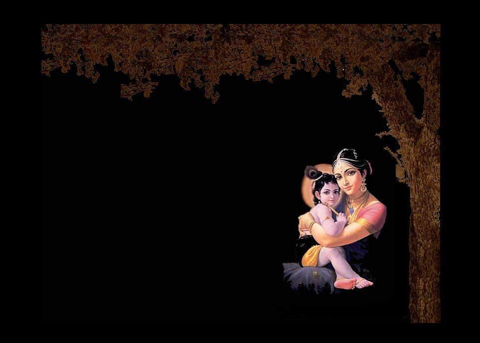 Sri Krishna Leelai Child God Epic Arjuna Hd Wallpaper - Desktop Wallpaper Lord Krishna - HD Wallpaper