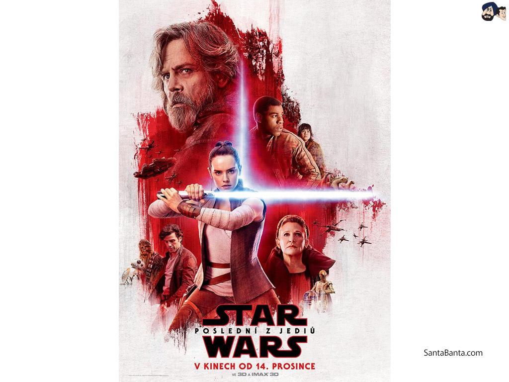 Star Wars The Last Jedi Textless Star Wars Poster 1024x768 Wallpaper Teahub Io