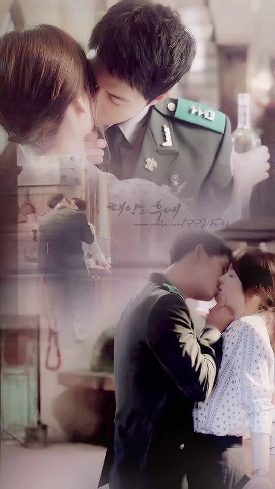 User Uploaded Image - Descendants Of The Sun Wallpaper Kiss - HD Wallpaper