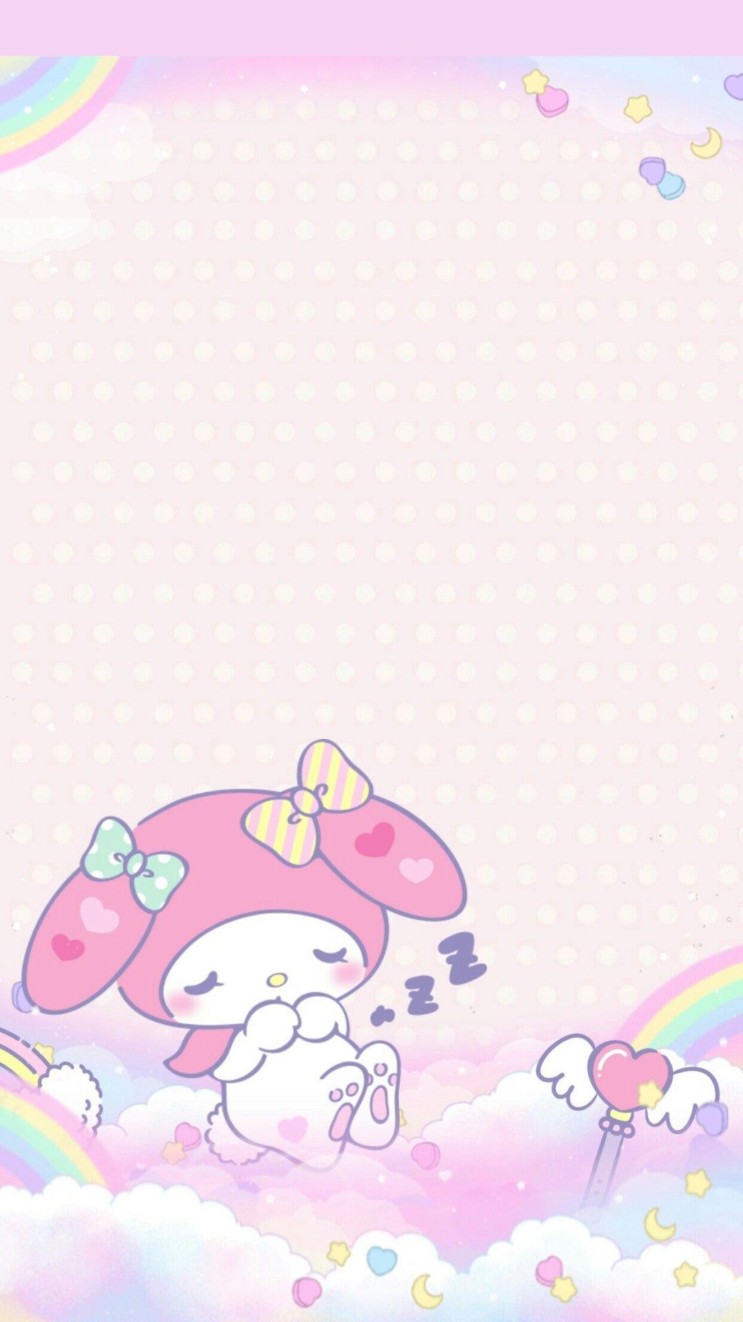 My Melody Dreamy Unicorn 1080x1920 Wallpaper Teahub Io