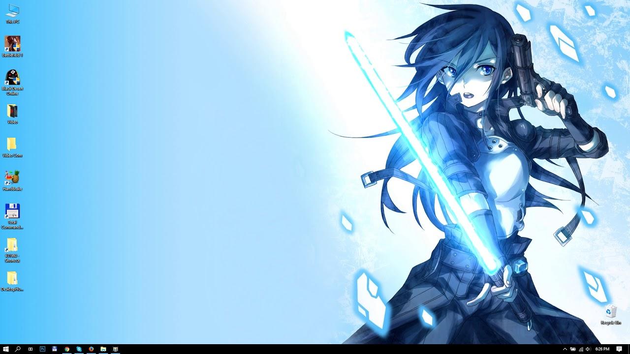 Live Wallpaper Sword Art Online 1280x720 Wallpaper Teahub Io