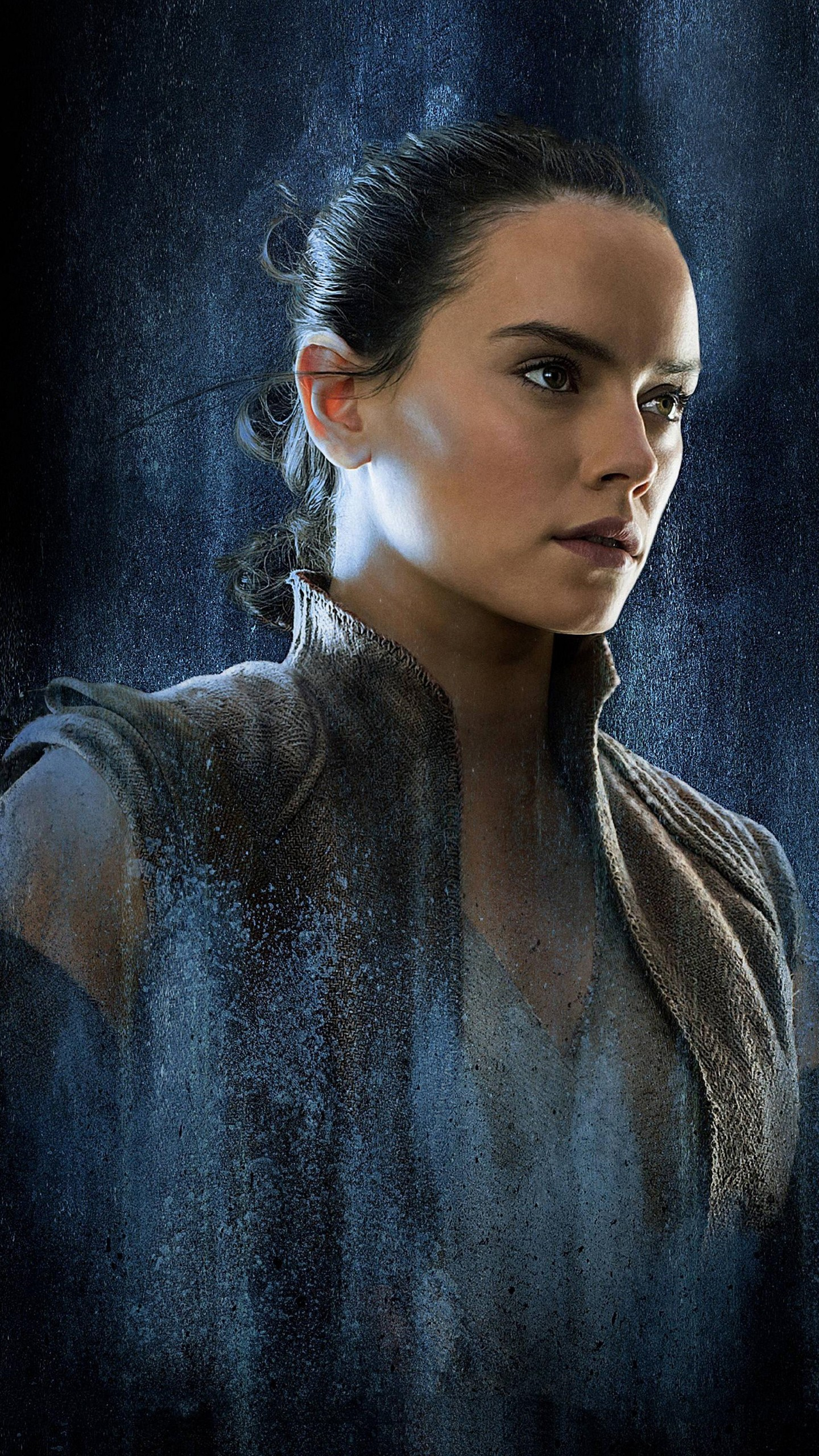 Star Wars Rey Art 1440x2560 Wallpaper Teahub Io